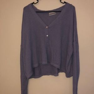 periwinkle loose top from Urban Outfitters